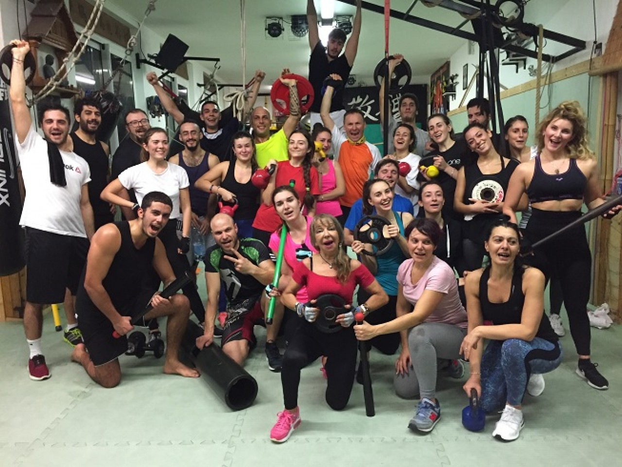 Cross training .Iniziati i nuovi circuiti 2019 a Fitness Club Rimini .